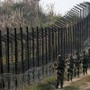 Three army men,two militants killed along LoC
