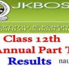 12th bi-annual results to be declared today-JKBOSE