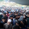 Thousands participate in the funeral of slain militant in Handwara, Pulwama