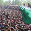 Massive throng at slain Sopore militant's funeral amid 'pro-freedom' slogans