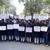Aligarh Muslim University students press for resolution of Kashmir dispute, condemn civilian killings