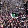 In pictures: Funeral procession and clashes at native village of Al-Badar commander Zeenat-ul-Islam