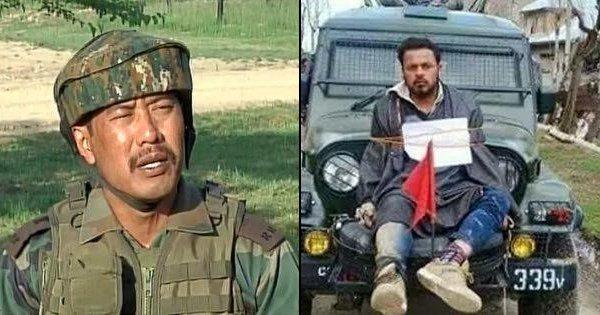 Major Gogoi arrested along with girl from Srinagar hotel