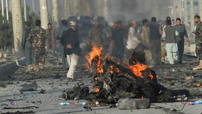 Four blasts took place in Kabul; two killed