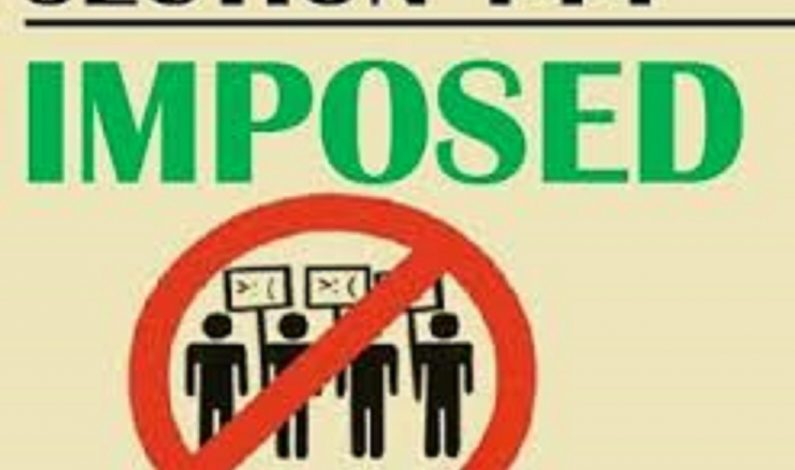 Sub-Inspector Exams: Section 144 imposed around exam centres in Srinagar
