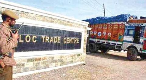 Cross LoC trade resumes on Srinagar-Muzaffarabad road