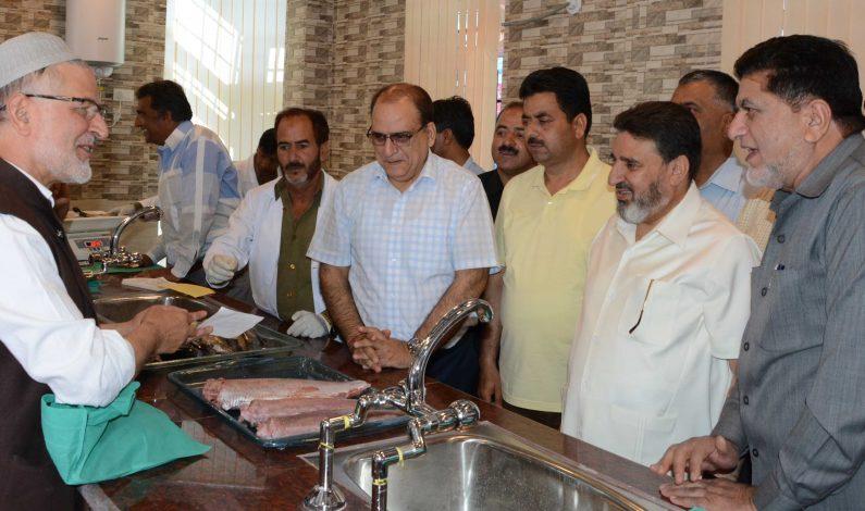 Government inaugurates hygienic fish farm in Srinagar