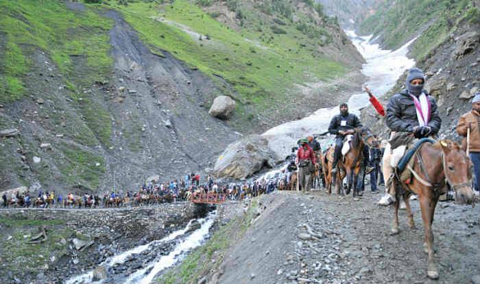 Amarnath yatra suspended till Aug 4 due to prediction of heavy rain