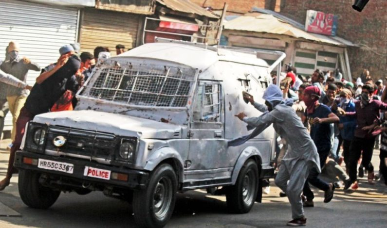 'Paramilitary driver shifted gears to run his gypsy over me,' says Younis who was captured in viral picture showing him under tyres of CRPF vehicle