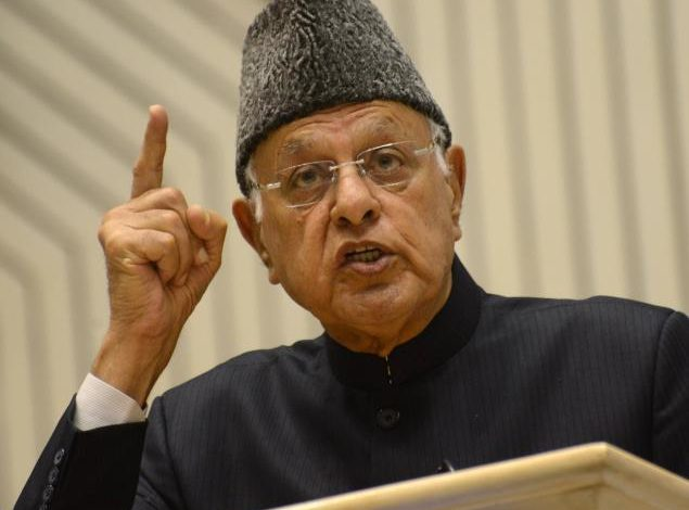 Farooq Abdullah writes to EC about frisking away of non-BJP DDC candidates on pretext of security