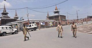Clashes Erupt In Downtown Srinagar Area after Friday Prayers at Historic Jamia Masjid
