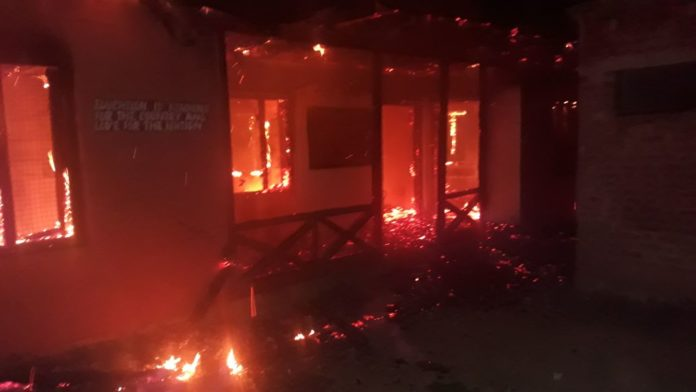 Govt middle school gutted in mysterious blaze in Budgam village