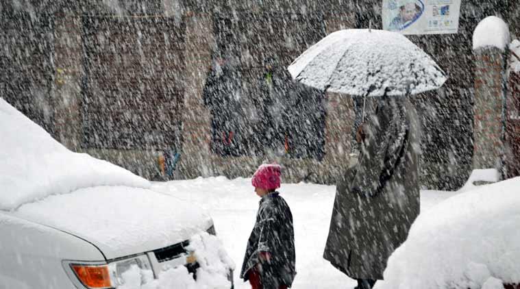 Bandipora-Gurez road closed as higher reaches receive fresh snowfall