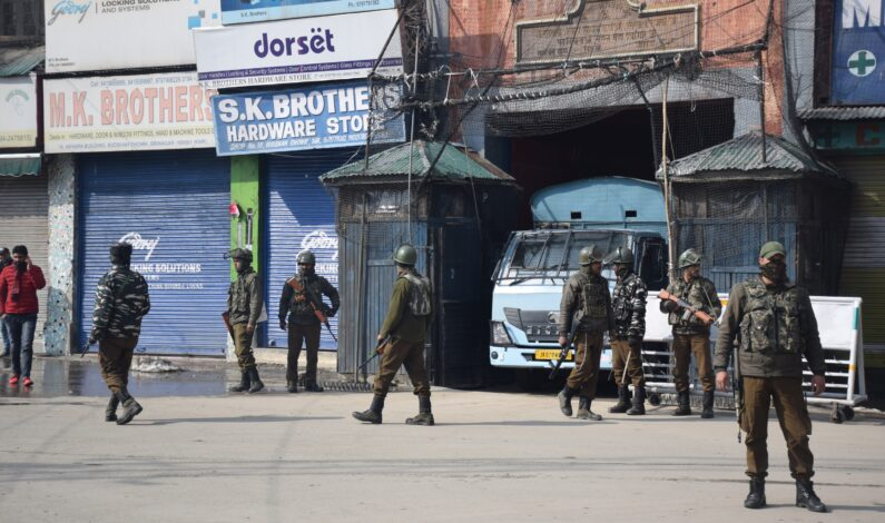 Existing lockdown guidelines to continue in J&K till June 8