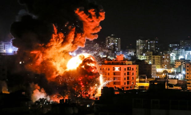 43 killed in Gaza as Israel carries out hundreds of airstrikes