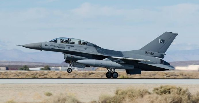 US approves military sales worth $125 million to support Pakistan's F-16 fighter jets
