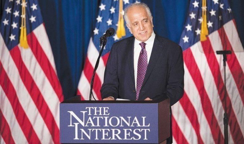 Khalilzad Steps Down as Top US Envoy to Afghanistan