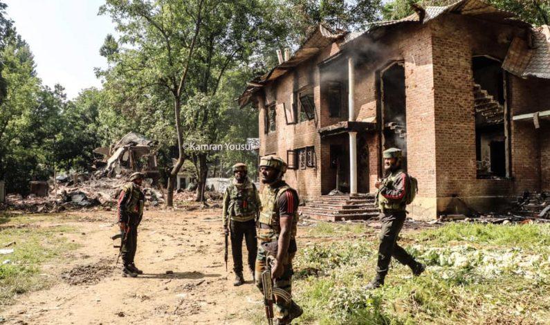 Gunfight breaks out in Poshkeeri Anantnag