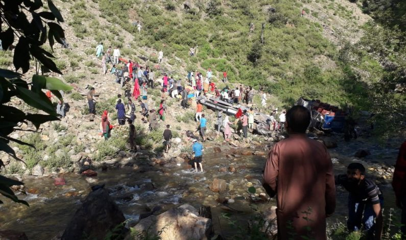 20 feared dead, several others injured as passenger vehicle rolls into deep gorge in Kishtwar