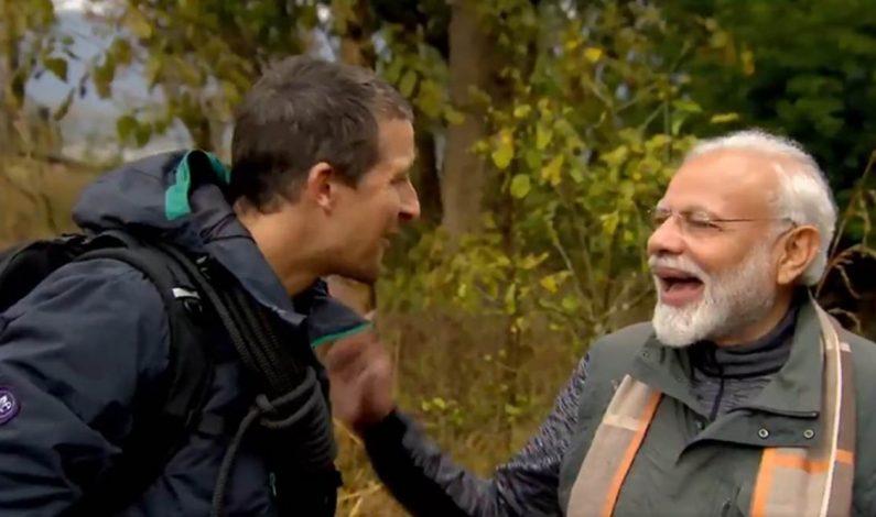PM Narendra Modi to feature in Discovery's 'Man Vs Wild'