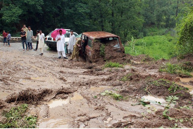 Seven dead as torrential rain continues across Pakistan