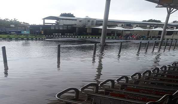 Rain creates havoc in Jammu, city waterlogged, water enters airport terminals