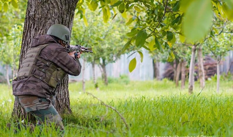 Nocturnal gunfight breaks out in Tral Pulwama