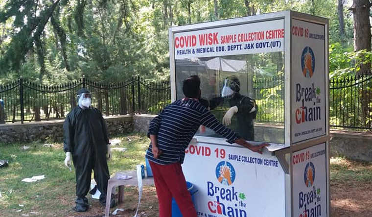 590 New Covid-19 cases in J&K, tally crosses 22000 mark