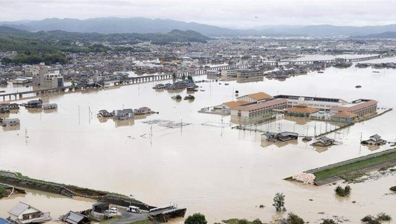 Japan floods: Death toll soars to 16