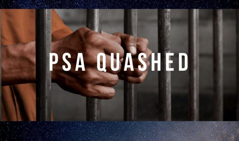 Court quashes detention of Sopore youth under PSA