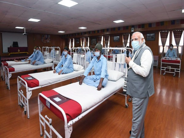 We will never bow down to any power of the world: Modi tells soldiers injured during Galwan valley clash