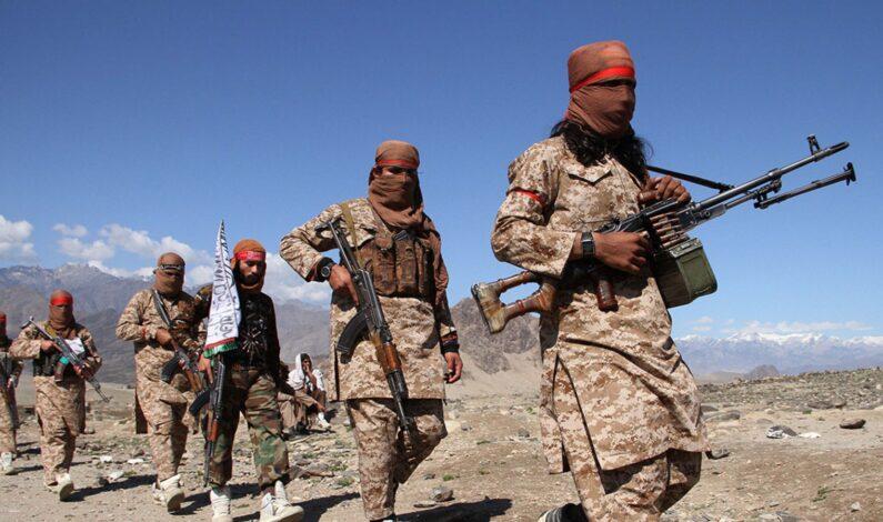 Nine Afghan security men killed in Taliban attack