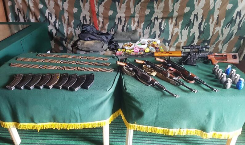 Infiltration bid foiled in Kupwara, Militants pushed back; arms, sniper rifle recovered: Army