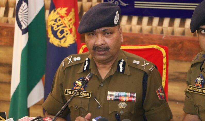 Srinagar encounter: Have no reason to dispute GoC Kilo Force's version; will still investigate families' claim, says DGP Dilbagh Singh