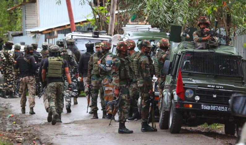 Twin gunfights in South Kashmir: Five militants killed in 24 Hrs