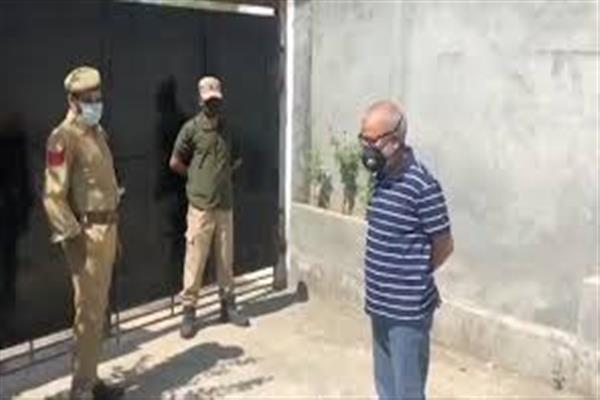 Jailed PDP leader Naeem Akhter develops health issues, shifted to hospital