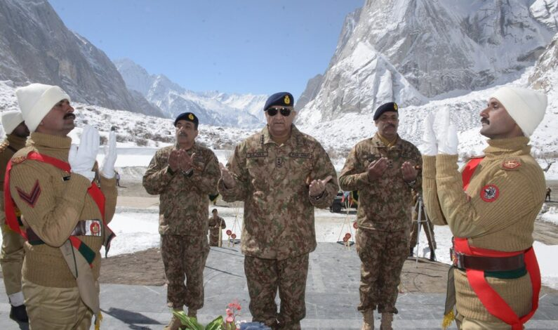Pak army chief visits Gilgit Baltistan, stresses upon troops to be on highest levels of readiness