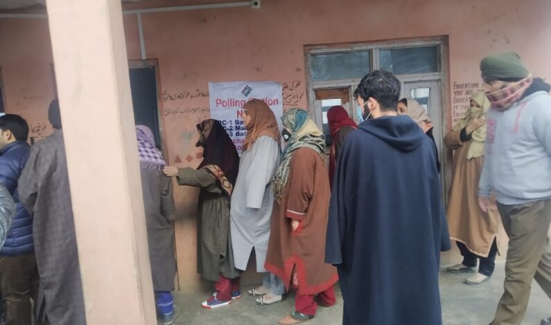 DDC polls: Counting stopped for Hajin-A, Drugmulla due to nationality issue of candidate
