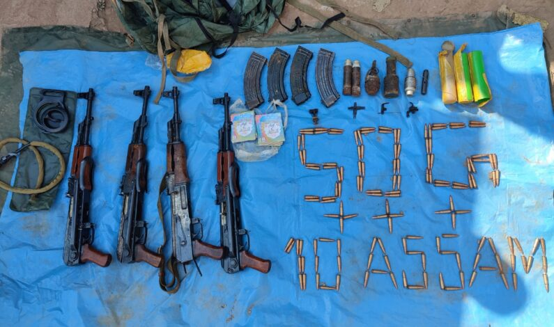 100 Ak rifles, 10026 other ammunition recovered near LoC in J&K between 2018 & 2019: MHA