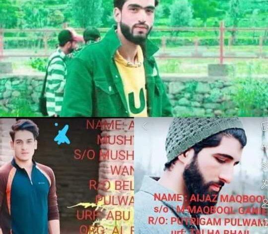 'Srinagar encounter': Families of slain protest, claim they're innocents