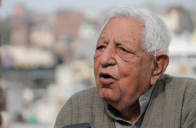 Ardent supporter of Kashmir resolution Krishna Dev Sethi passes away