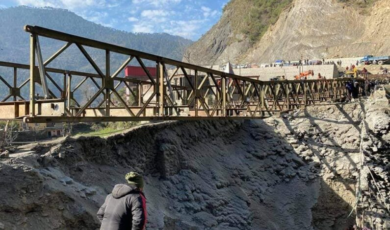 Bailey Bridge Trial Run Ends, Jammu-Srinagar Highway Likely To Reopen By Today Evening