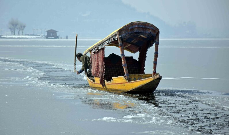 At Minus 8.8°C, Srinagar Records Coldest Night After 30 Years