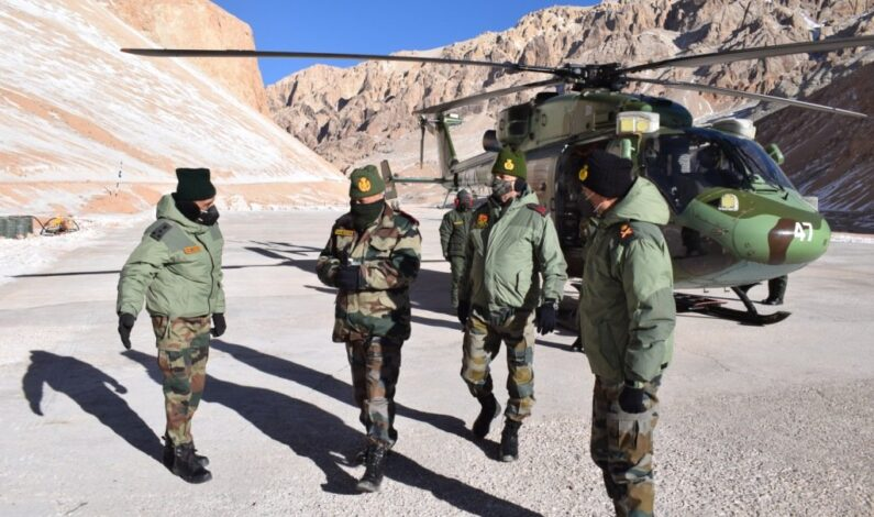 Amid stand-off with China, CDS Rawat concludes his two days visit to forward areas of Ladakh