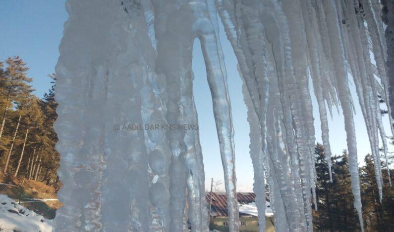 Kashmir freezes again: Minus 5.6°C In Srinagar, Minus 13.4 In Gulmarg
