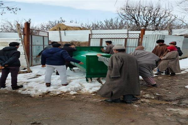 Wildlife department Traps Bear in Kunzer