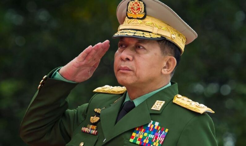 US announces sanctions against Mynamar Army Chief General Hlaing