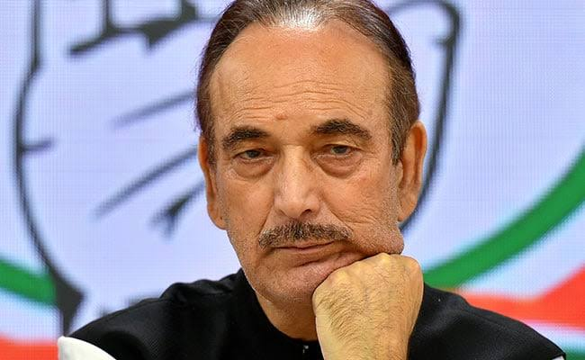Every person, political party in J&K want restoration of Statehood: Ghulam Nabi Azad