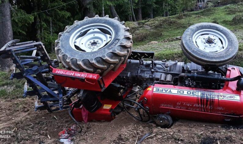 FPF Employee Dies As Tractor Turns Turtle in Karnah