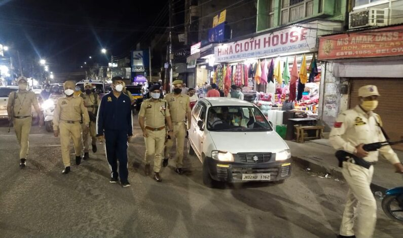 All kinds of business establishments to remain closed on Sundays in Jammu city in view of COVID 19: JCC